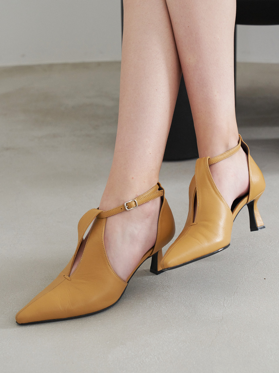 Mrc073 Twist Pumps (Peanut Yellow)